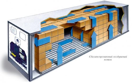 Рефрижераторный контейнер 20